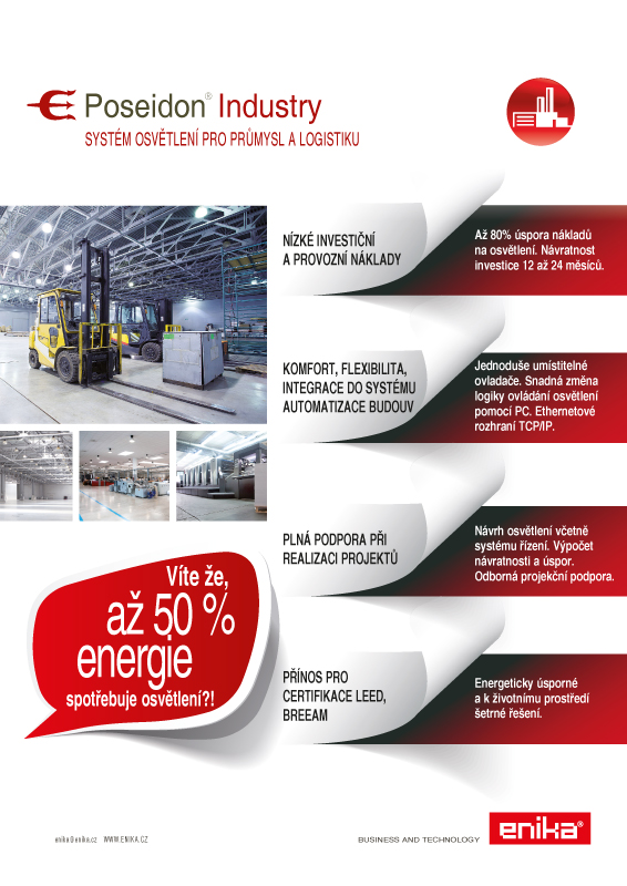 lighting control system for industry and logistics